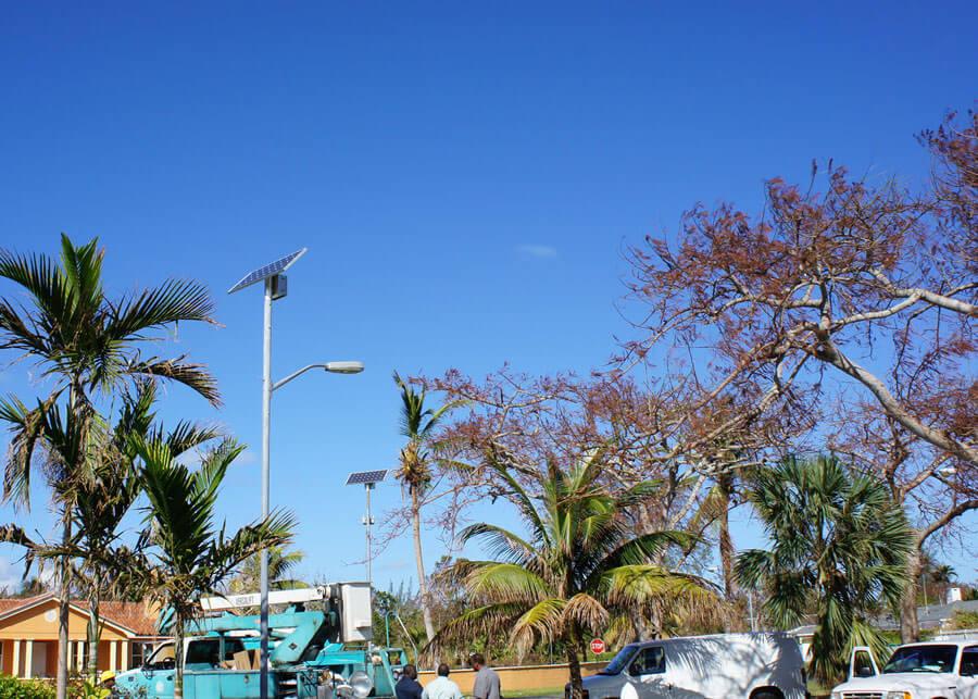 Solar Street Light Westwood Villas Caribbean