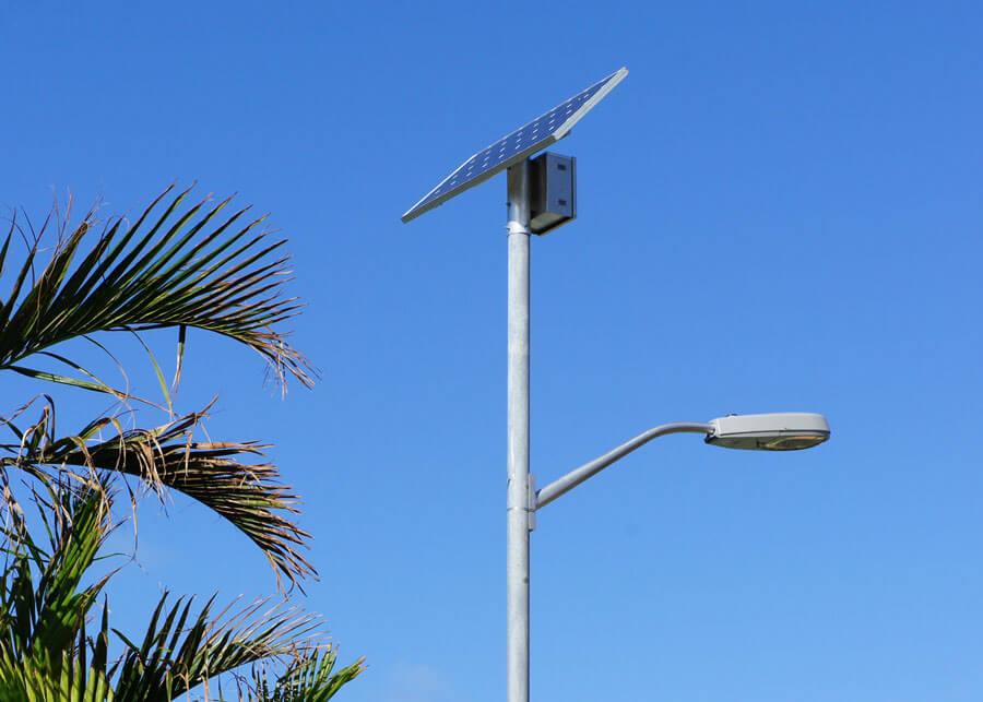 Solar LED Street Lights Westwood Villas Caribbean
