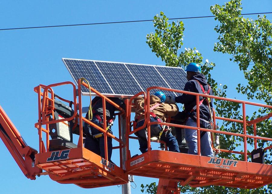 ConEdison Solar Security Lighting