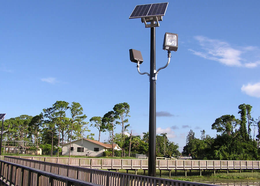 Solar Security Lighting Port Salerno