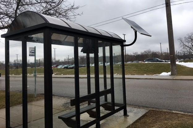 EMU Solar LED Bus Shelter Light