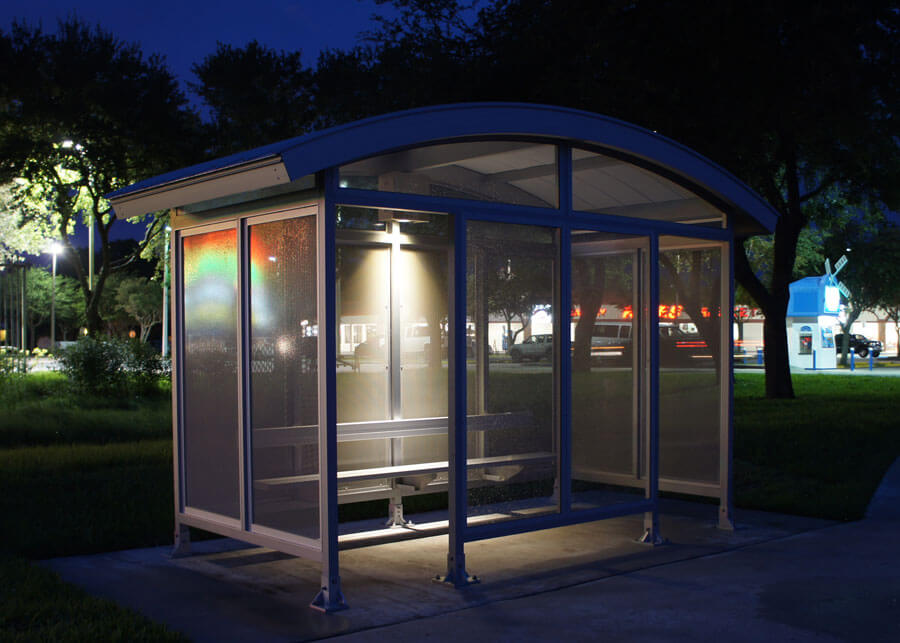 Martin County Bus Solar Bus Stop / Shelter Lighting