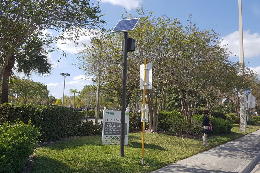 Coconut Creek Solar Transit Lighting