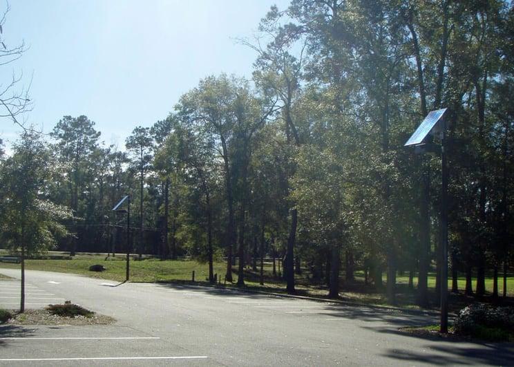 Shading Concerns For Solar Lighting For Parking Lots