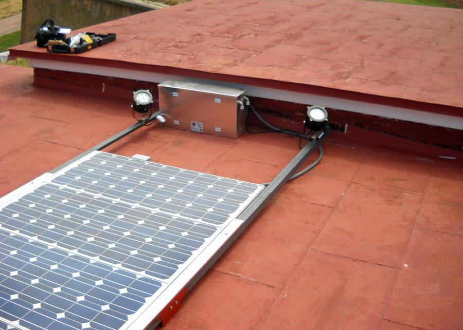 Solar Flag Lighting Fort McHenry