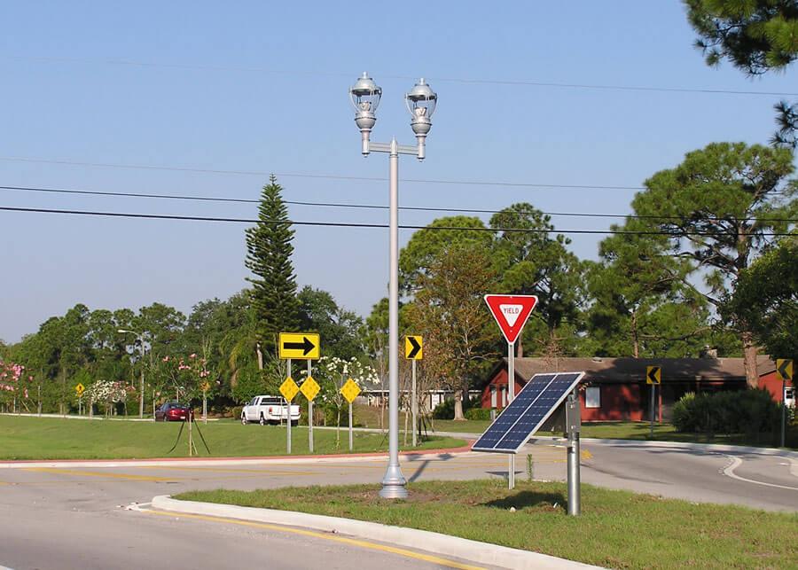 Decorative LED Solar Lighting Martin County