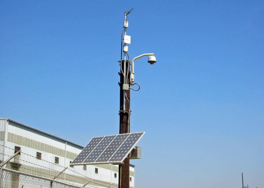 Fisk Camera Solar Powered