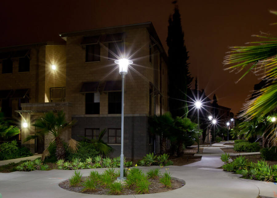 Solar LED Pathway Lighting MCAS BEQ