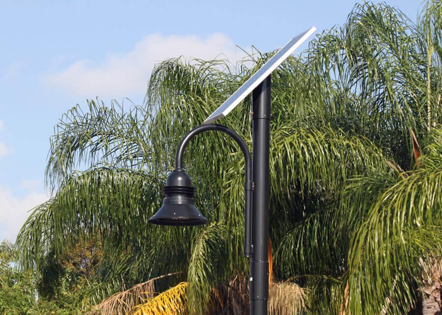 Solar Lighting Application Shown for Dania Beach