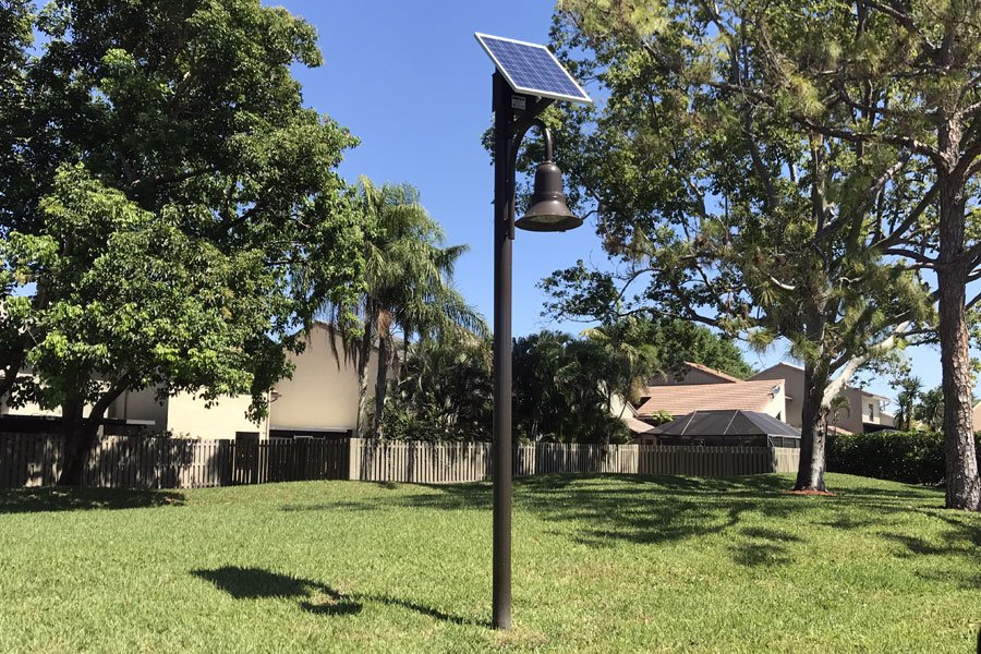 Solar Roadway Lights for Gardens of Woodberry