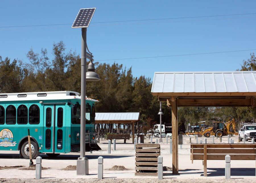 Decorative Overhead Solar Lights Manatee County