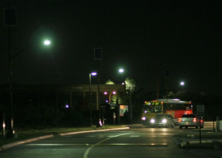 Dallas Community College Solar LED Street Light