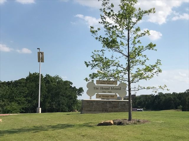 Dog Park Solar Lighting for Flower Mound TX