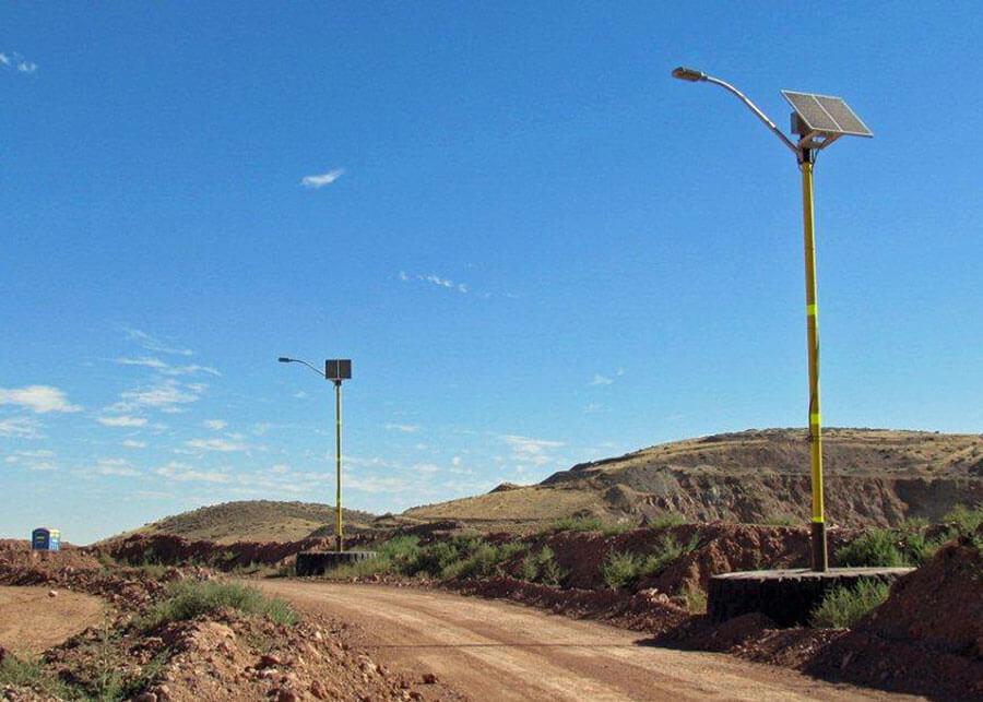 Industrial Mining Facility Solar LED Street Light