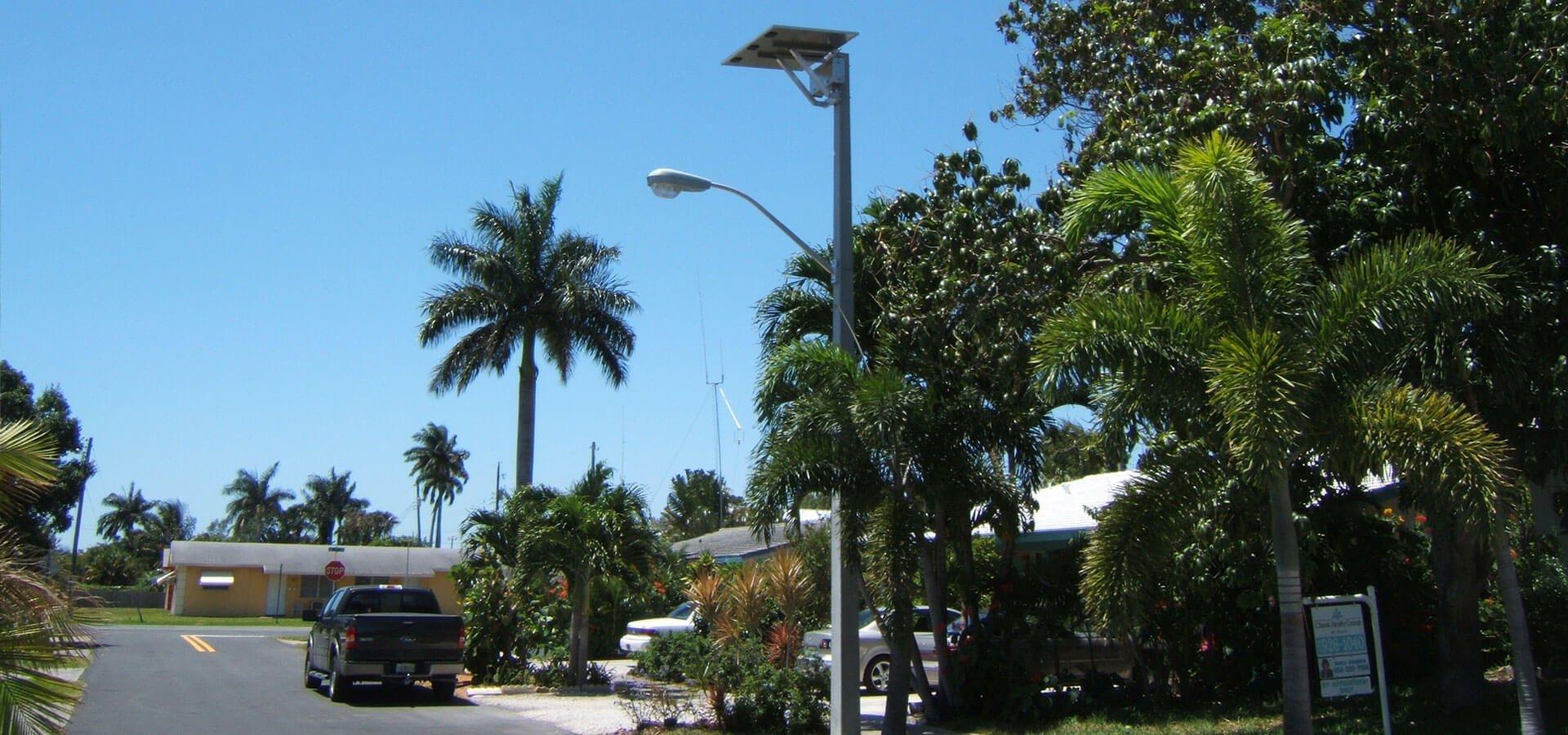Dania Beach Solar Street Lights