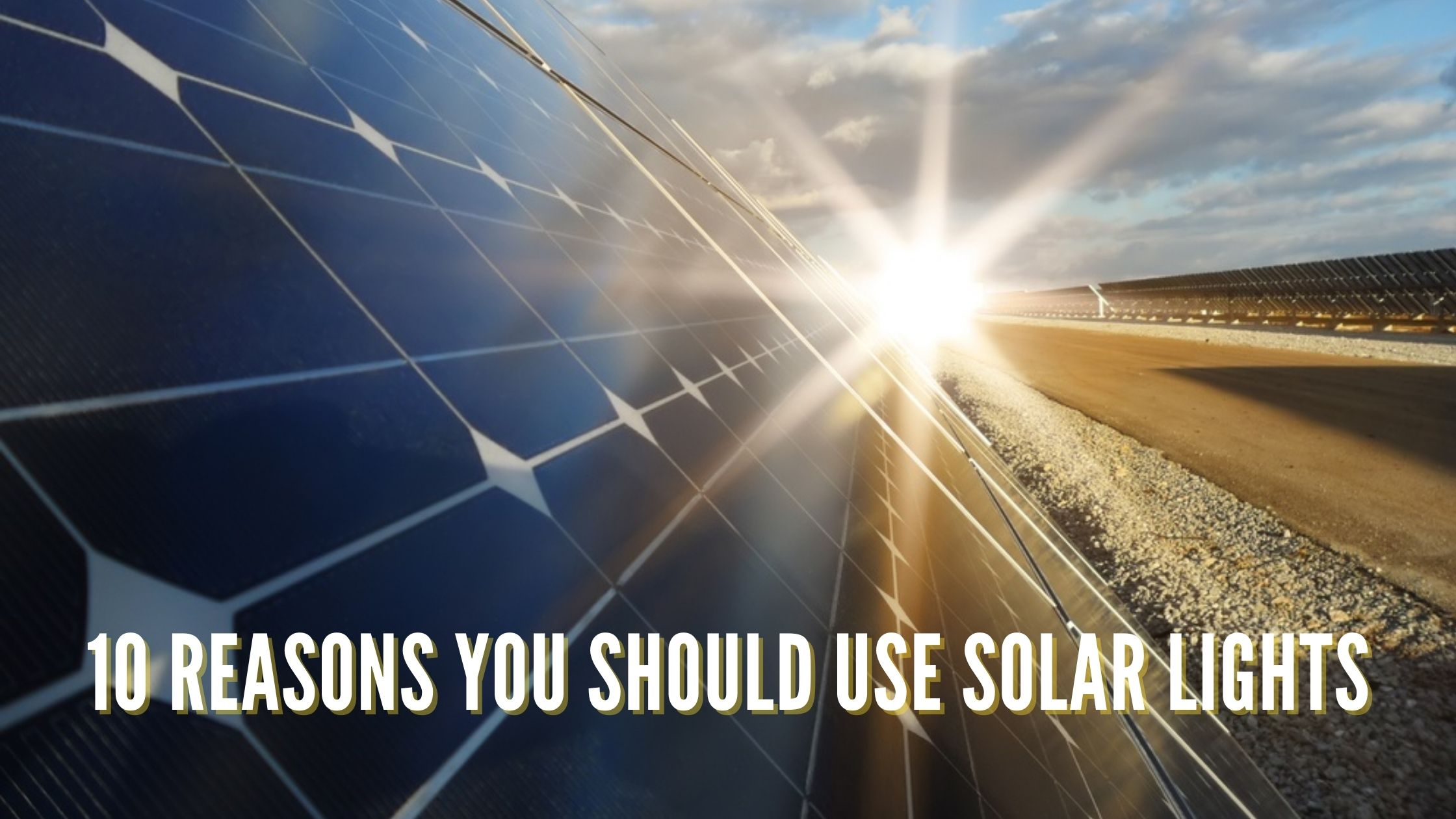 10 Reasons You Should Use Solar Lights