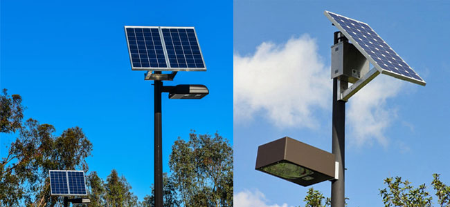 Outdoor Commercial Lighting Options for commercial solar outdoor lighting systems about 15 years ago or so there were very few options for commercial solar outdoor lighting systems but as technologies advance more and more options are workwithnaturefo