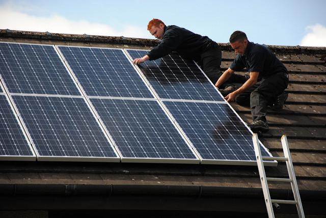 Roof Solar Evergreen Solar