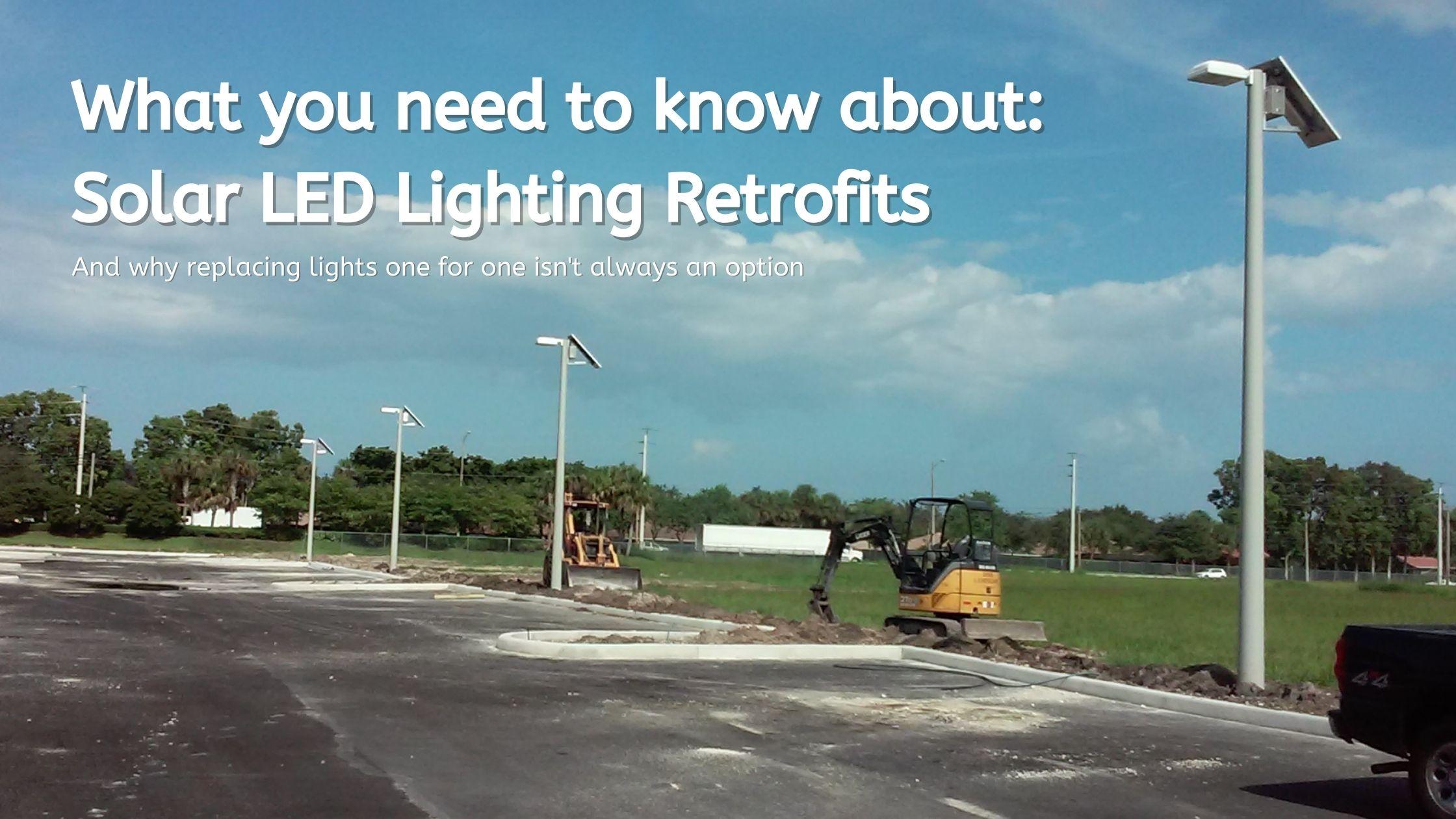 Solar Lighting Retrofit