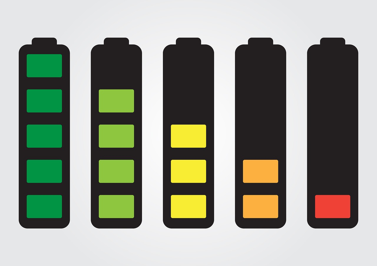 Battery Lifespan Graphic