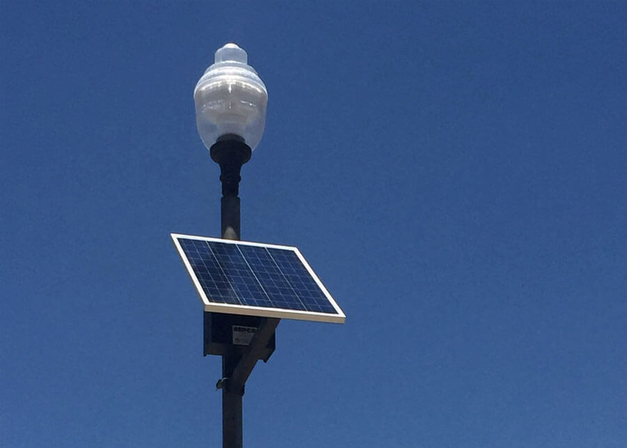 Bucklin Park Acorn Solar LED Light