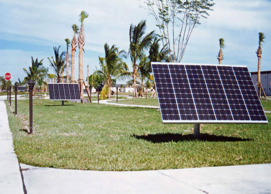 pathway landscape solar powered led lighting systems sepco solar