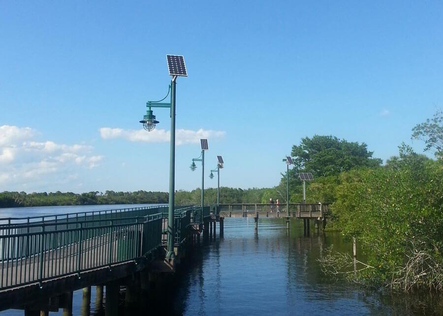 PSL Riverwalk Solar Pathway Lighting Overview