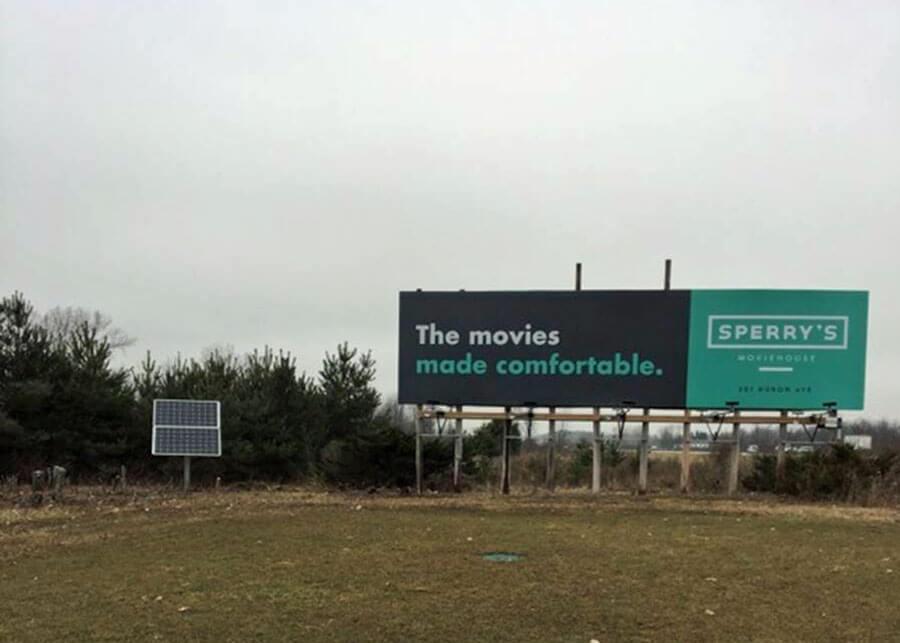 Golf Country Signs Billboard Solar LED Flood Lights