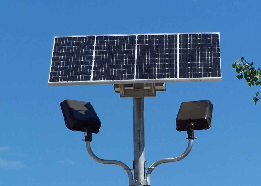 Solar security lighting conedison since the lighting doesnt rely on the power grid the solar security lighting systems provide the needed light during outages as well as all around aloadofball Images