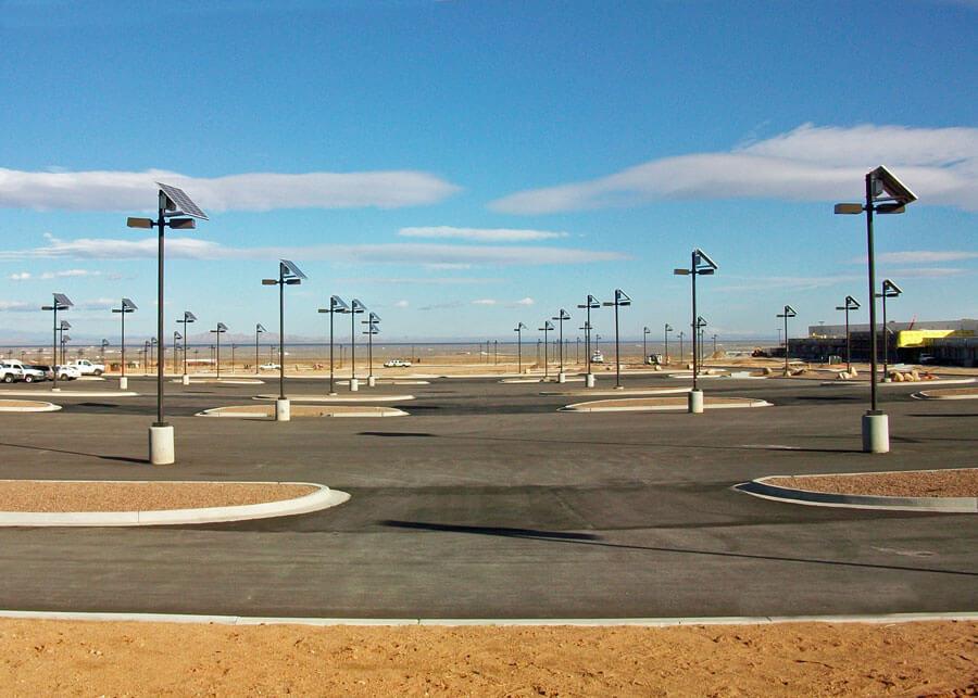 Military Parking SolarRatio Style Solar Light System