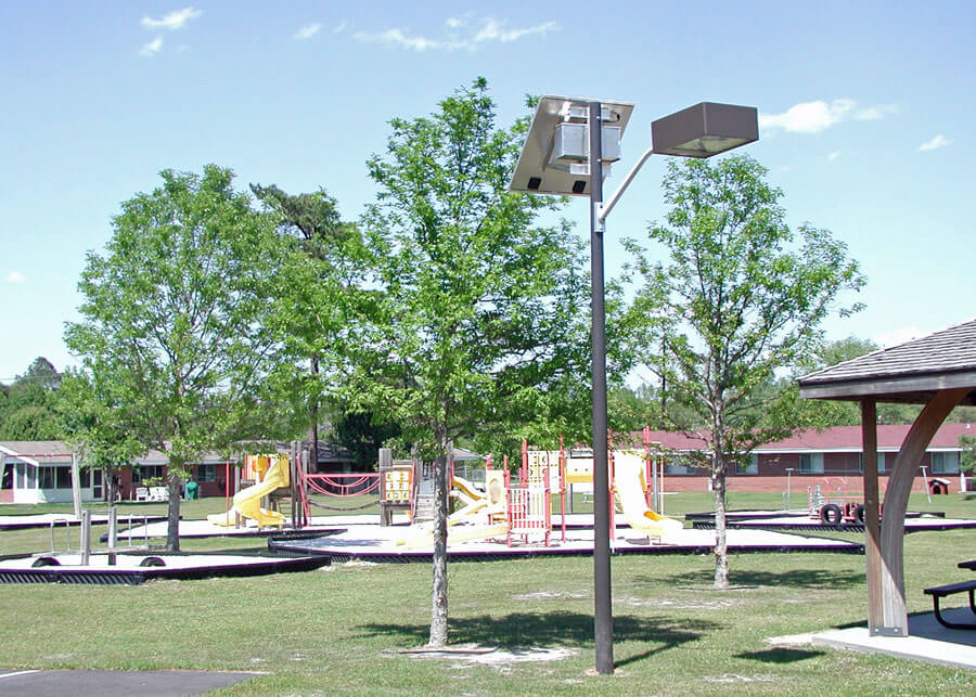 Solar Lighting Systems for Parks and Playgrounds