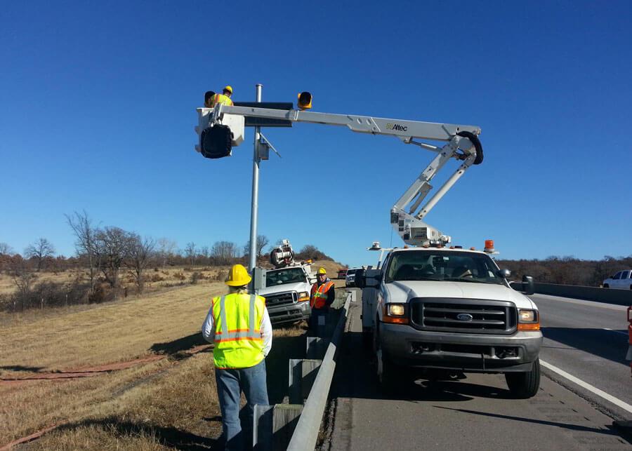 Vehicle Overheight VOHD SolarFlasher Solar Flashing Lights
