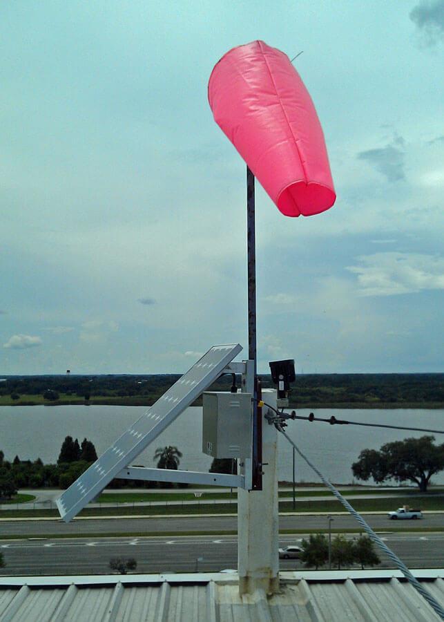 Florida Natural Growers Solar Windsock Lighting
