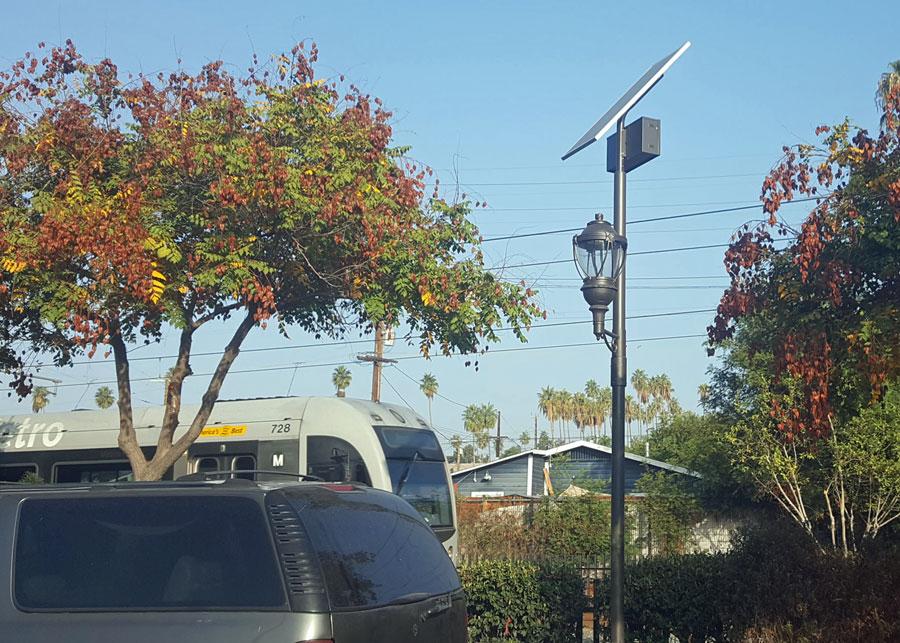 LA Metro Solar LED Walkway SolarLondon Lighting