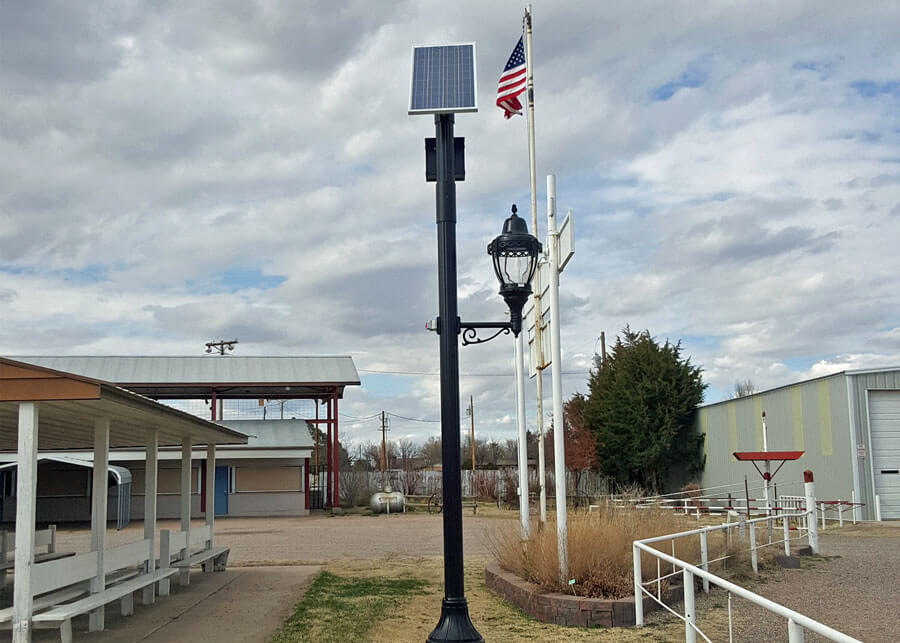 Washington Fair Grounds SolarLondon System