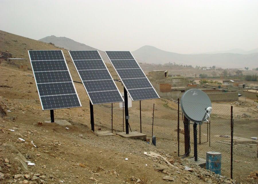 Afghanistan Solar Powered Seismic Station
