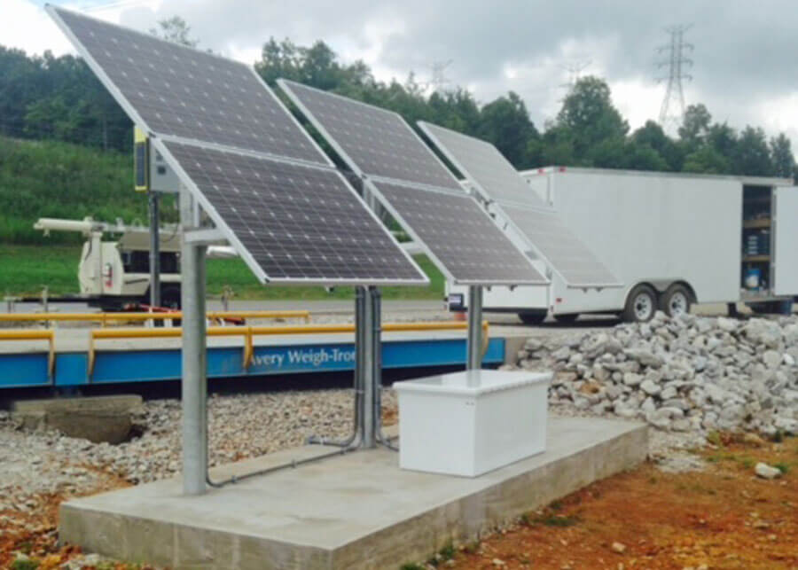 Wingfield Scale solar power systems