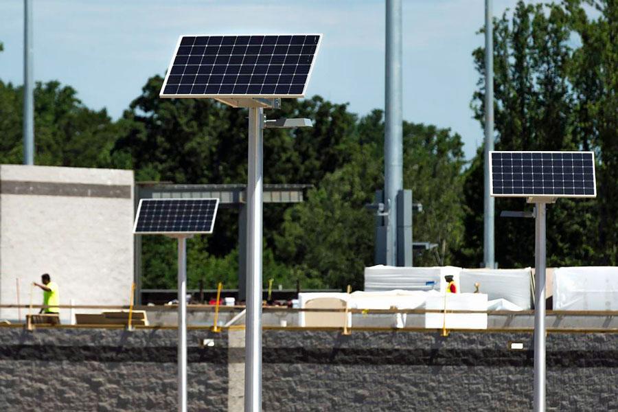 Fredericksburg Baseball SolarRatio System