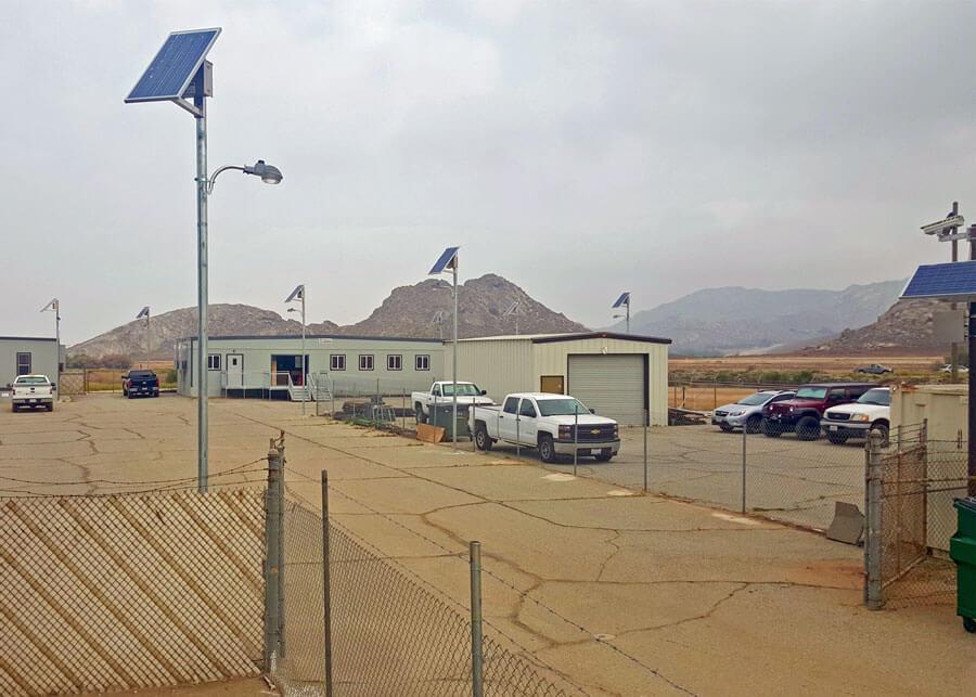 Perris Dam SolarSecurity System