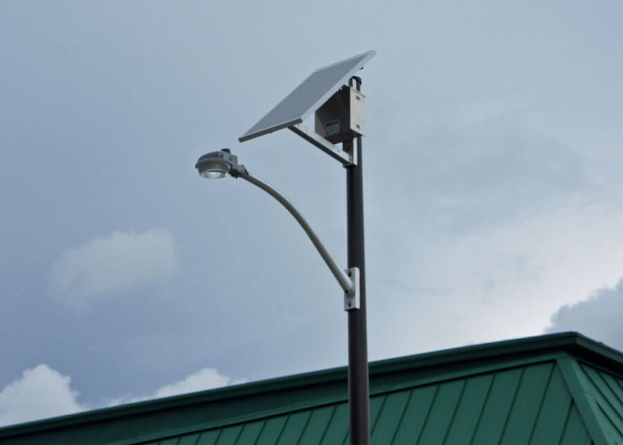SolarSecurity SEPCO Factory Solar LED Light System