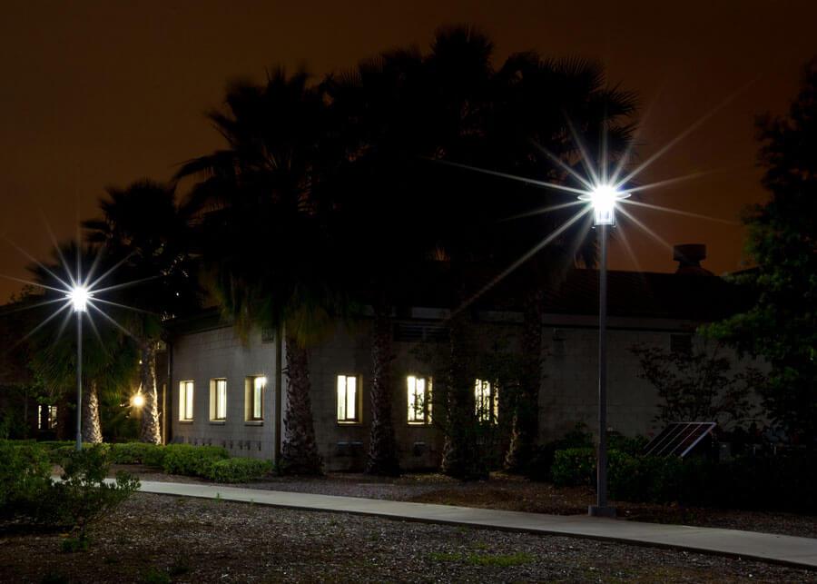MCAS SolarSlide Pathway Lighting LED Solar Powered