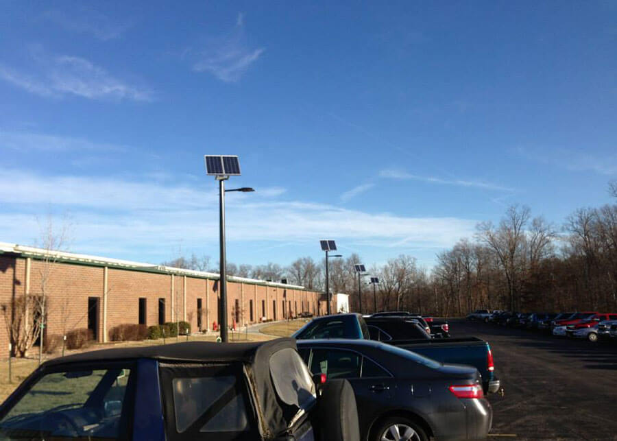 ATTC Manufacturing Solar LED Walkway and Parking Area Lights