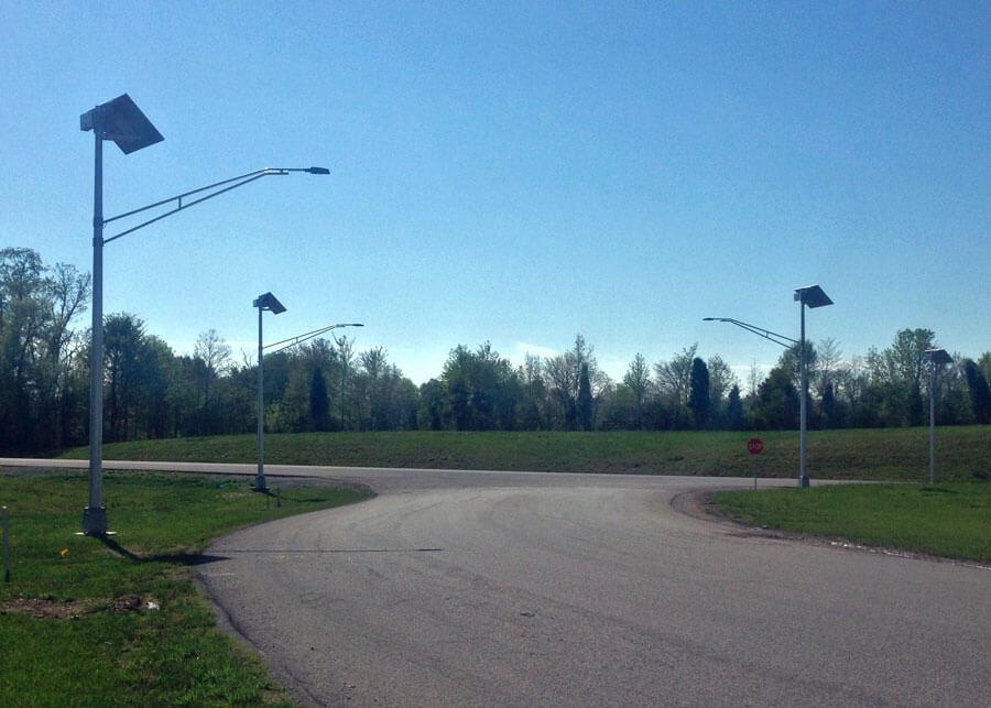 ATTC Manufacturing Solar Street Lighting