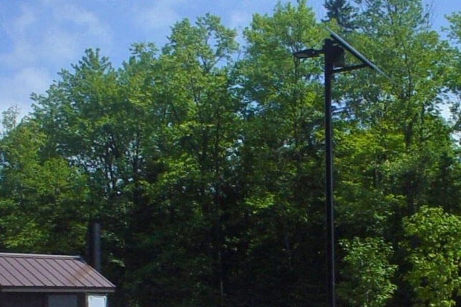 MDNR Solar Boat Ramp Lighting System