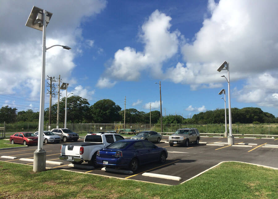 Solar LED Lighs for Parking Lot
