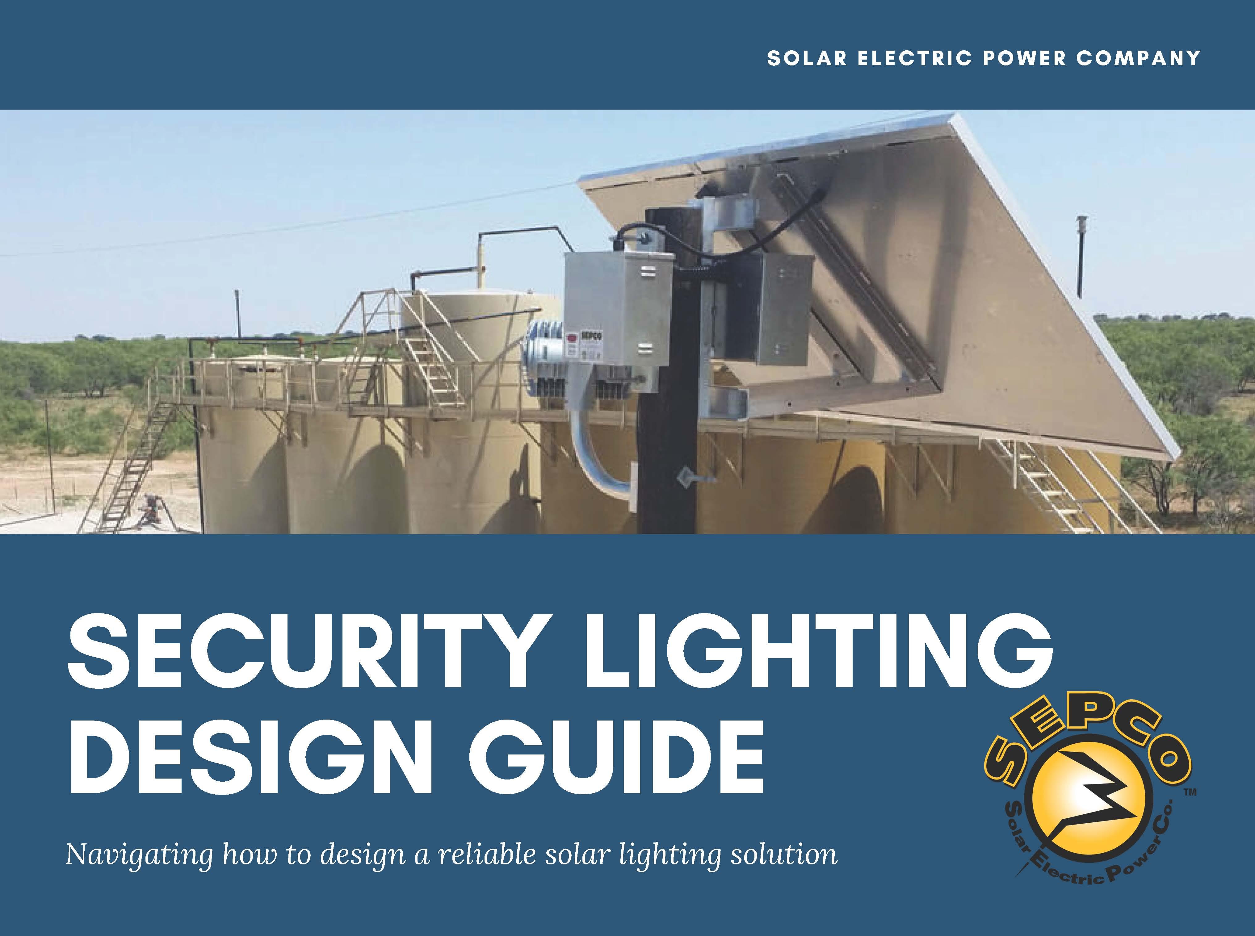 Security Lighting Design Guide