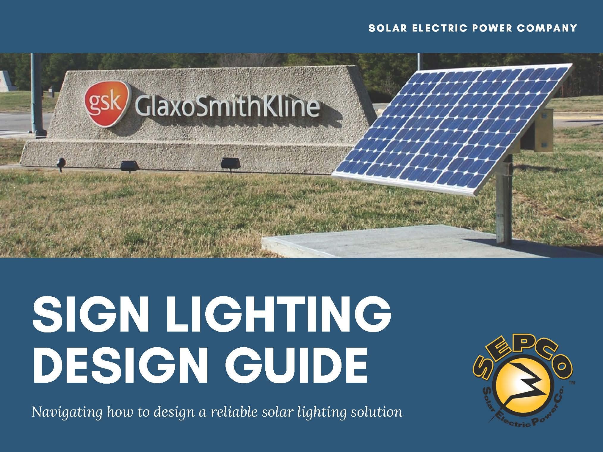 Sign Lighting Design Guide
