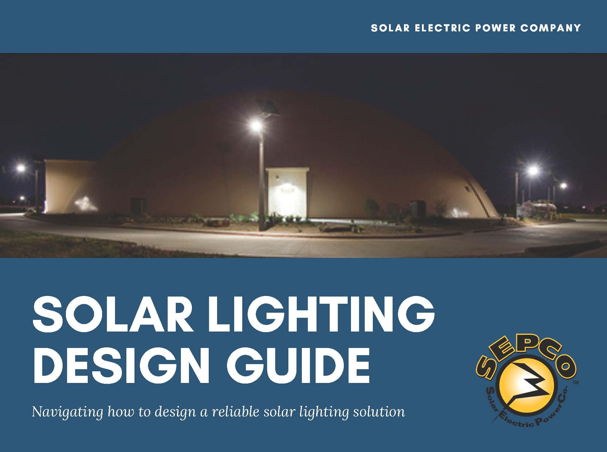 Solar Lighting Design Guide
